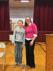 MCS Spelling Bee Champion
