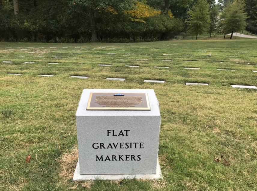 new monuments draw attention to flat grave markers at jefferson