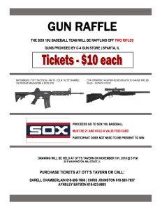 Gun Raffle Fundraiser